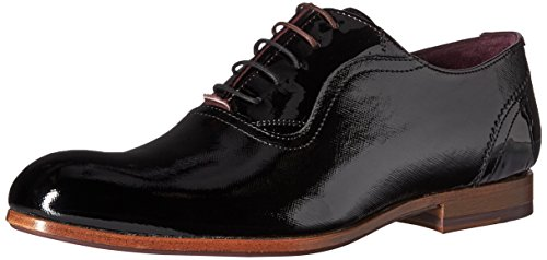 Ted Baker Men's Haiigh PATL AM Loafer, Black, 9 M US