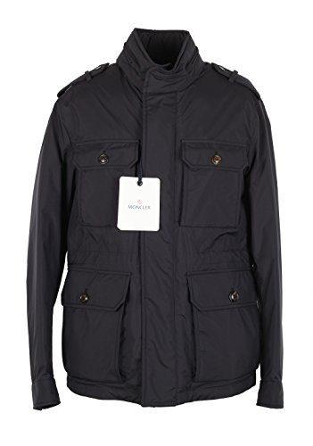 Moncler CL Blue Eusebe Field Jacket Coat Size 1/S/46/36 U.S.