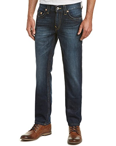 True Religion Men's Sim Straight Jean, Lost Lagoon, 29