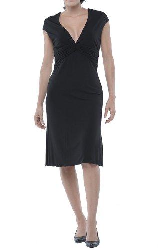 Roberto Cavalli - Pleated Dress Black, 44, Black