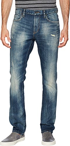 John Varvatos Star USA Men's Bowery Fit Jeans in Blue Stone Blue Stone 36 32