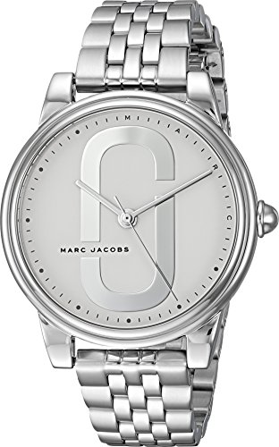 Marc Jacobs Women's 'Corie' Quartz Stainless Steel Casual Watch, Color Silver-Toned (Model: MJ3559)