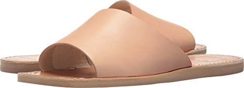 Dolce Vita Women's Cato Slide Sandal, Natural Leather, 8.5 M US