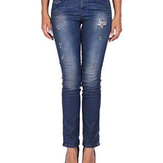 Diesel Women's Jeans Sandy - Regular Slim Straight - Blue, W25/L30