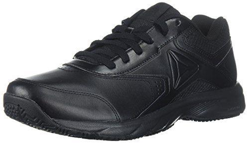 Reebok Men's Work N Cushion 3.0 Sneaker, Black, 11.5 4E US