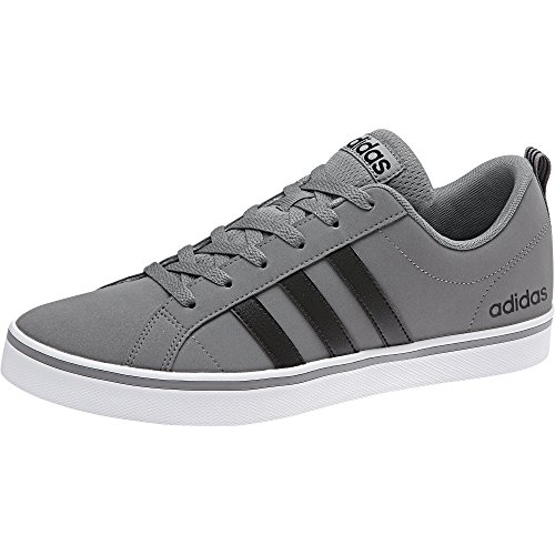 adidas Originals Men's Vs Pace Sneaker, Grey Three/Black/White, 9 M US