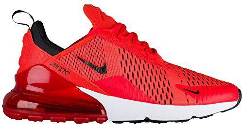 online retailer b65e9 5767d NIKE Air Max 270 Men's Shoes Habanero Red/Black/White (10.5 ...