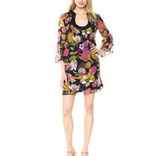 Trina Turk Women's Bonita Dress, Indigo, Medium