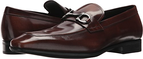 Salvatore Ferragamo Men's Dinamo Bit Loafers, Madera, 8.5 D D(M) US