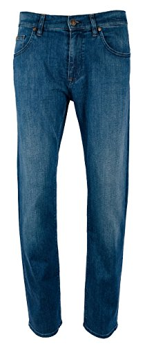 Hugo Boss Men's Maine Green Label Regular Fit Stretch Jeans-B-30Wx32L