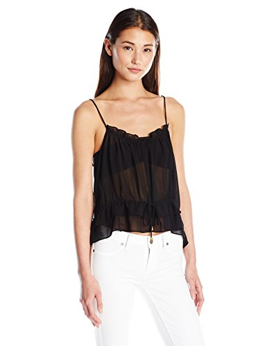 Misa Women's Tayane Top, Misty Black, Medium
