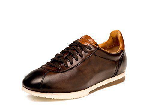 Magnanni Gonzalo Brown Men's Fashion Sneakers Size 9.5 US