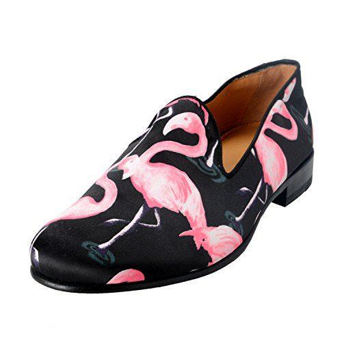 Marc Jacobs Men's Leather & Canvas Loafers Slip On Shoes US 10 IT 9 EU 43