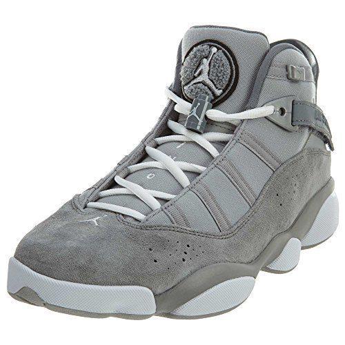 Jordan 6 Rings Matte Silver/White-Cool Grey (9 D(M) US)
