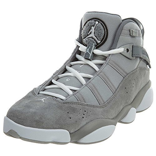 Jordan 6 Rings Matte Silver/White-Cool Grey (9 D(M) US)