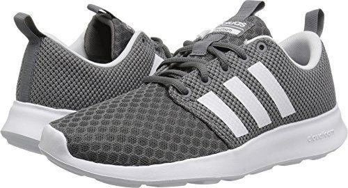 adidas Originals Men's CF Swift Racer Sneaker, Grey Four Fabric, Core Black, FTWR White, 7.5 M US