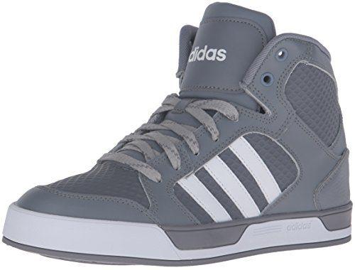 adidas Men's Raleigh Mid Fashion Sneaker, Grey/Running White/Grey/Running White/Clear Onix, 10.5 D-Medium