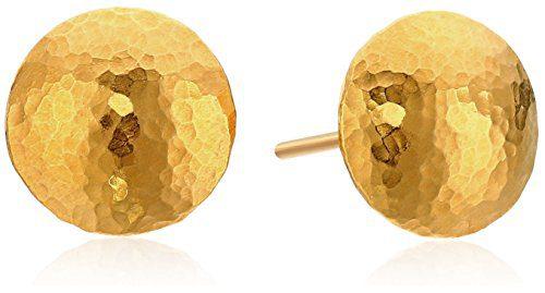 GURHAN Lentil 24k Gold Stud Earrings