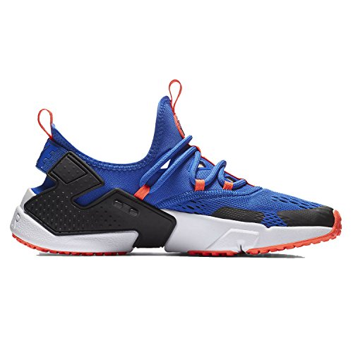NIKE Mens Air Huarache Drift Breathe Racer Blue Black Mesh Trainers 10.5 US