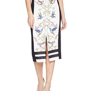 Ted Baker Women's Banton Skirt, White, 2