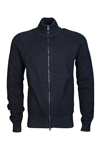 Hugo Boss Mens Cardigan/Hooded Knitwear ASMAREN Size M Black