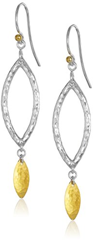 GURHAN Willow Mini Sterling Silver and 24K Gold-Layered Earrings