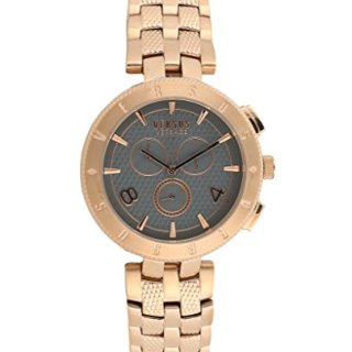 Versus By Versace Logo Gent Chrono Quartz Stainless Steel Watch