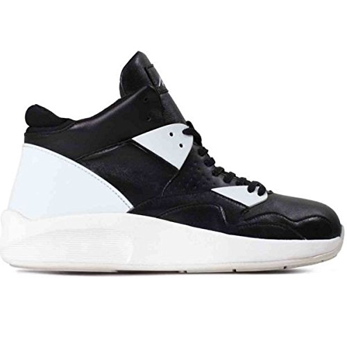 Article Number Nº Mens Mid-Cut Sneakers Shoes Black/White (10.5)