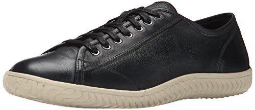John Varvatos Men's Hattan Low Fashion Sneaker, Mineral Black, 7 M US