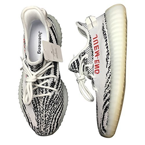 Unique Fashion Luxury Design White Zebra Shoes Comfortable Sport Casual Sneaker Men US10