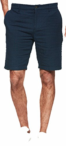 PAIGE Men's Short Thompson Short Navy Medallion (33)