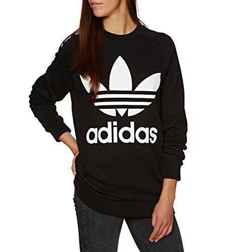 adidas Originals Oversized Pullover Hoody 8 reg Black
