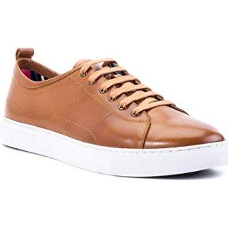 Robert Graham Mauricio Leather Sneaker, 9.5