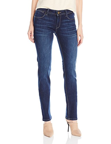 Women's Coco Curvy Slim Straight Jeans, Atlas, 26