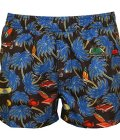 Just Cavalli Surf & Cadillacs Men's Swim Shorts, Black/Blue Medium Black/Blue