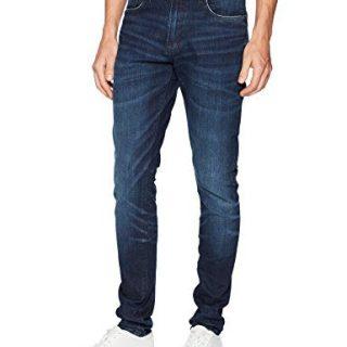 PRPS Goods & Co. Men's Frontal Jeans, Dark Blue, 34