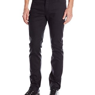 John Varvatos Collection Men's Slim Fit Jeans, Black, 36 Regular