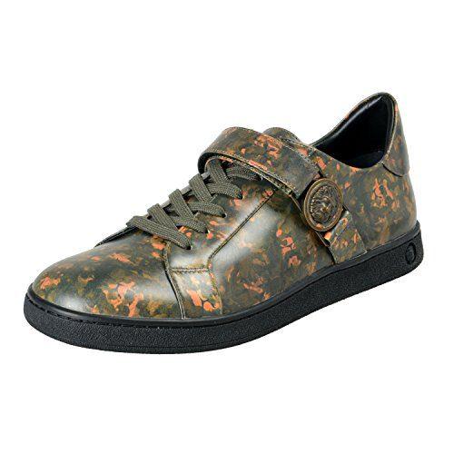 Versace Versus Men's Multi-Color Leather Fashion Sneakers Shoes Sz US 12 IT 45