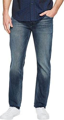 Robert Graham Men's Activate Woven Denim in Indigo Indigo Jeans