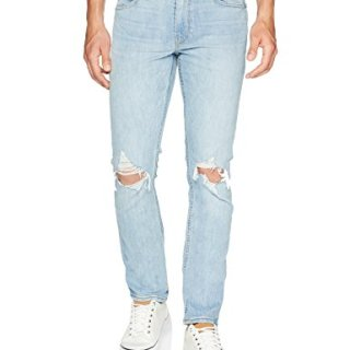 PAIGE Men's Lennox Tapered Skinny Leg Jean, Country Destructed, 29