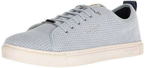 Ted Baker Men's Kaliix Sneaker, Light Blue Suede, 8.5 D(M) US