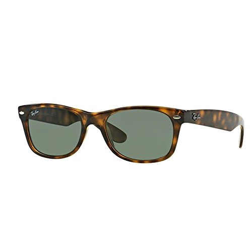 Ray-Ban Unisex New Wayfarer Sunglasses,Tortoise, 55mm