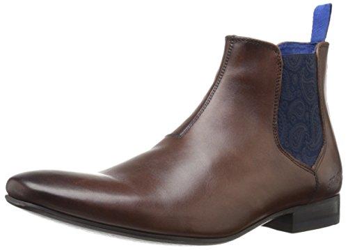 Ted Baker Men's Hourb 2 Lthr Am Brown Chukka Boot, Brown, 8.5 M US