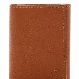 Robert Graham Men's Magada Leather Trifold Wallet (Sand)