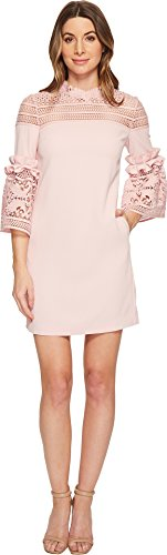 Ted Baker Women's Lucila Dress, Dusky Pink, 3