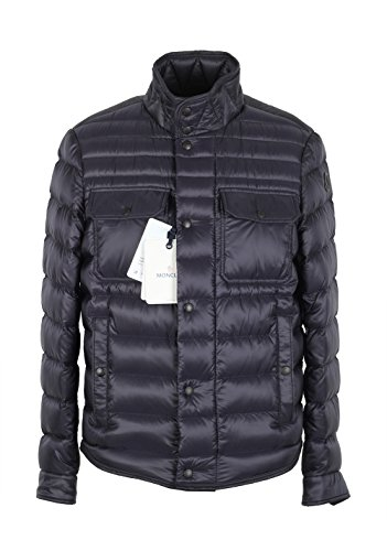 Moncler CL Blue Forbin Quilted Down Jacket Coat Size 1/S/46/36 U.S.
