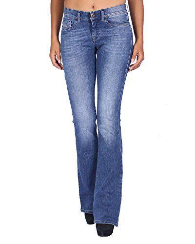 Diesel Women's Jeans LOWLEEH - Slim Bootcut - Blue, W27/L32