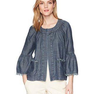 Trina Turk Women's Topaz Jacket, Indigo, Small