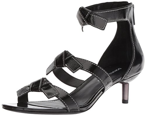 Donald J Pliner Women's Cady Sandal, Black, 6 M US