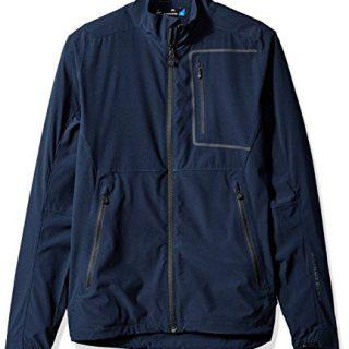 J.Lindeberg Men's Water Repellent Soft Shell Jacket, JL Navy, XL